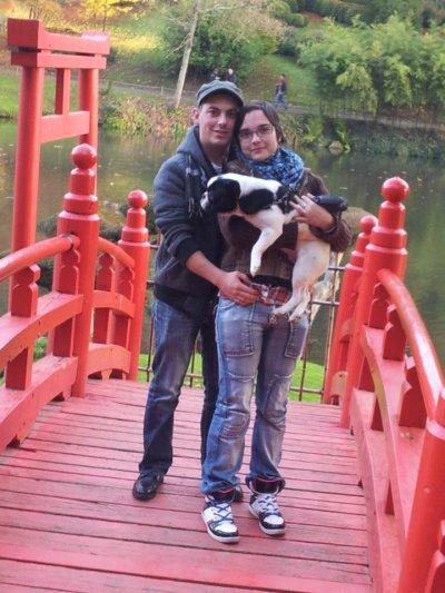 mon fiancé ; mon beau frère; ma soeur et moi