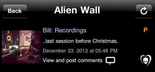 Application BTK - Bill : enregistrement...