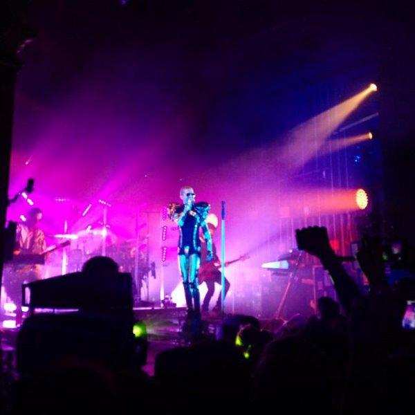 Concert à Berlín, 23.03.2015 (Heimathafen)