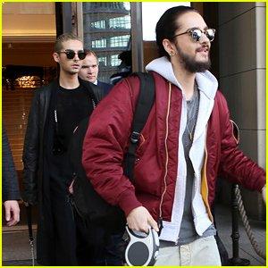 Article de justjared.com : Tokio Hotel appelle au boycott d'une salle qui a restreint leur 'liberté de création'