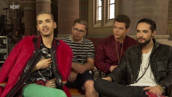 NDR.de - Tokio Hotel Interview (24.03.2015)  - SCREENSHOTS