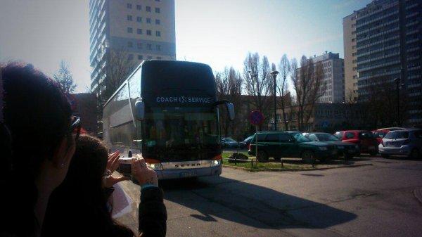 Tokio Hotel arrive Varsovie, 27.03.2015 (Klub Stodola)