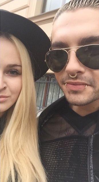 26.03.2015 Vienne - Bill Kaulitz avec une fan