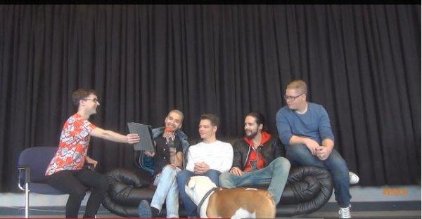 Interview de Tokio Hotel pour Eska.pl (28.02.15) # 2 - traduction