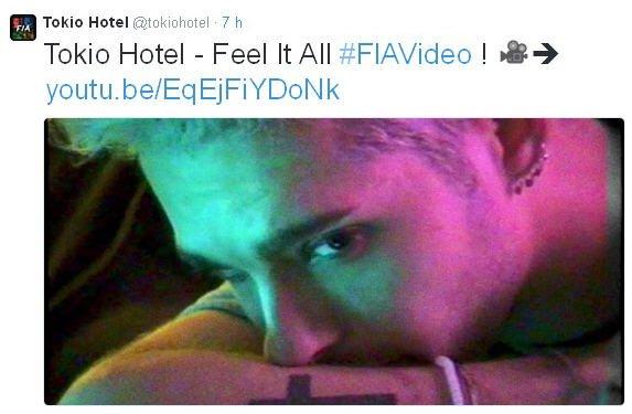 Twitter Tokio Hotel : Tokio Hotel - Feel It All #FIAVideo ! 🎥➔youtu.be/EqEjFiYDoNk