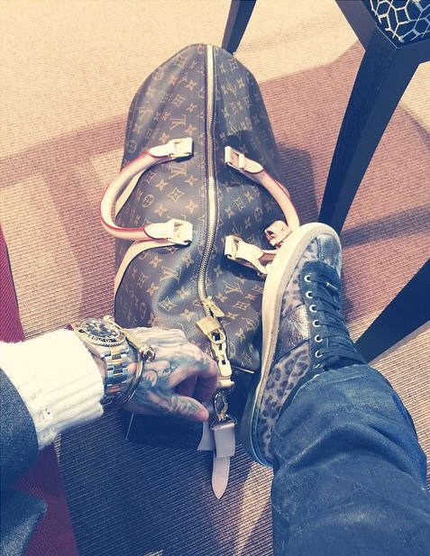Instagram Bill Kaulitz : Journée voyage #cheminduretour #tôt #retouràLA #aprèstournée