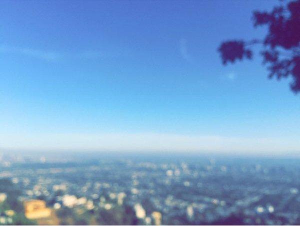 Instagram Bill kaulitz : ici le ciel est bleu #retouràlmaison #LA