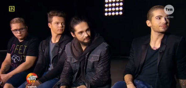 "[NEW VIDEO] Tokio Hotel Interview à Polish TV ""TVN"" - Varsovie Pologne [27.03.2015]"