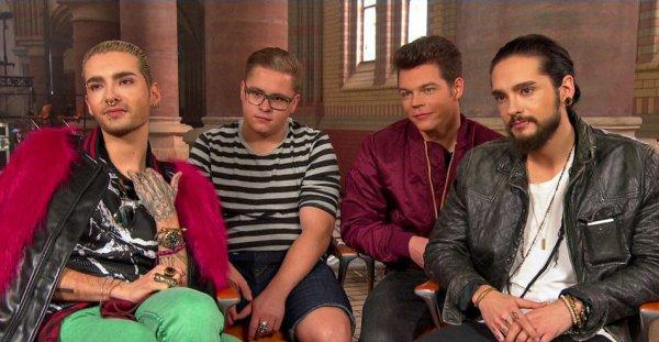 Interview NDR.de :  De retour à la maison : Interview avec Tokio Hotel