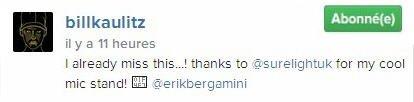 Instagram Bill Kaulitz : Je me ennuie déjà de ça ...!
