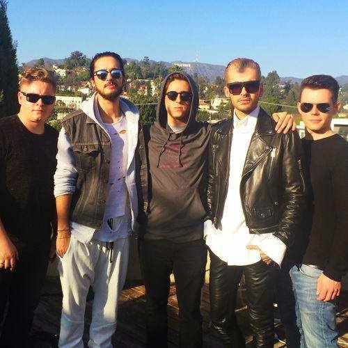 [NEW AUDIO] ‪Tokio Hotel‬ Interview pour Fat Roll Puppy @ Hollywood Tower - Los Angeles, CA [13.01.2015]