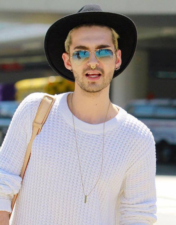 Bill et Tom à l'aéroport de Los Angeles - 30.03.2015