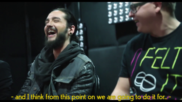 Tokio Hotel TV 2015 [EP 11] You Asked We Answered - SCREENSHOTS