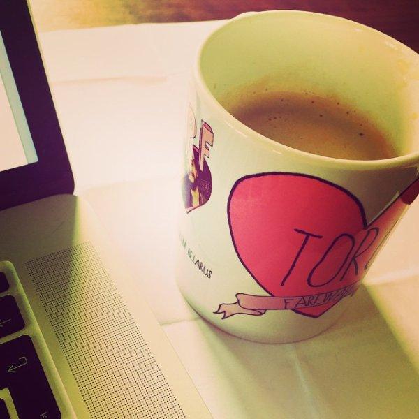 Instagram Georg Listing : Vous voulez savoir d'où vient cette tasse?