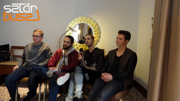 SZTÁR BUSZ - Tokio Hotel Interview (26.03.2015) - SCREENSHOTS