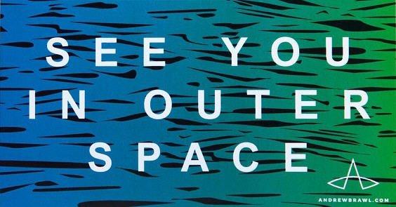Instagram andybrawl : new stickers!!! #seeyouinouterspace