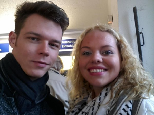 27.04.2015 Magdeburg - Georg Listing avec une fan