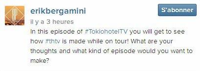Instagram erikbergamini : Dans cet épisode de #TokioHotelTV vous allez voir comment les #thtv ont fait