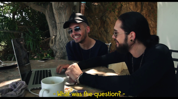 Tokio Hotel TV 2015 [EP 14] #AskTokioHotel - SCREENSHOTS