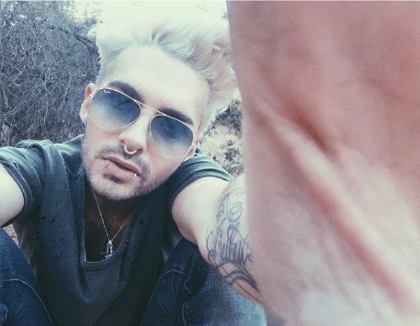 Instagram Bill Kaulitz : #selfie #mardi #pausestudio