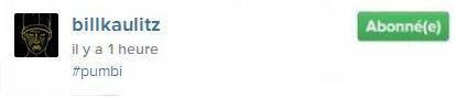 Instagram Bill kaulitz : #pumbi