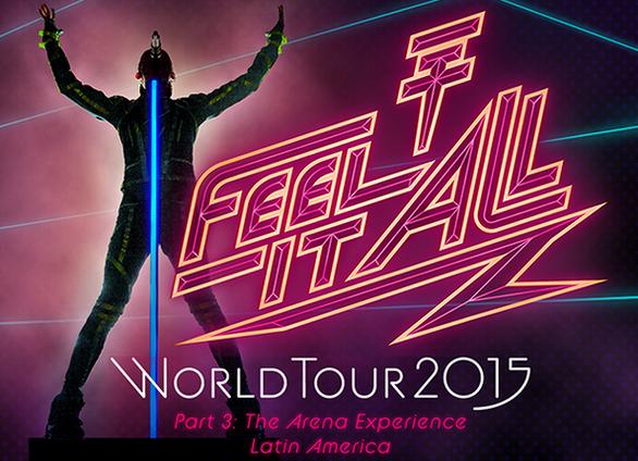 Article de adventuresinwonderland.com : Les packs VIP pour la troisième partie de la tournée en Amérique du Sud