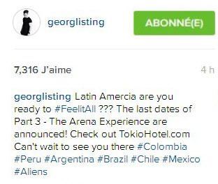 Instagram Georg Listing : 