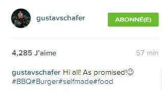 Instagram Gustav Schafer :