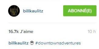 Instagram Bill kaulitz : billkaulitz😎 #downtownadventures