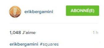 Instagram erikbergamini : #carrés
