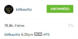 Instagram billkaulitz 18h35#PalmSprings