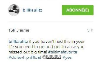 instagram Si vous n'avez pas eu cela dans votre vie vous devez vous bouger et en acheter un parce que vous avez manqué un grand moment! #utimefavorit #dolewhip #float 😋🍦🍍🍒 #yes