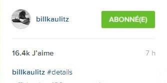 Instagram Bill Kaulitz #details