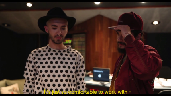 "Vidéo-Tokio Hotel TV Episode 19 : ""De la techno dans le labo"": - SCREENSHOTS"