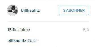 Instagram Bill Kaulitz : #flou