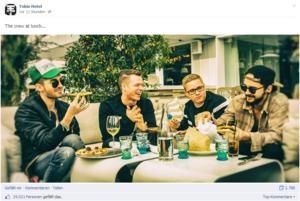 Article de myheimat.de ; Tokio Hotel: Bill Kaulitz se fait plaisir