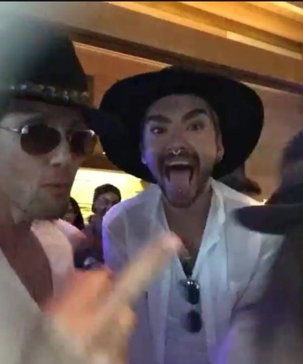 04.07.2015 Malibu - Bill Kaulitz @ Nobu - Red, White & Bootsy