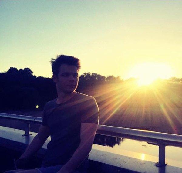 Instagram georg listing : #aujpurd'hui #dimanche #coucher de soleil