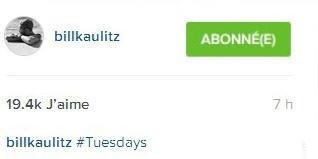 Instagram Bill kaulitz : #mardi