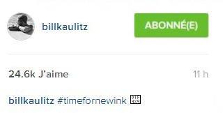 Instagram Bill Kaulitz : #momentpourunnouveautatouage