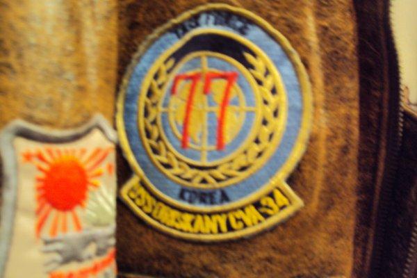 manteau top gun  (manteau pilote volontaire américain)