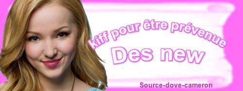 💚∞Bienvenue sur ton blog Source-dove-cameron ta source qui parle que de la belle dove cameron∞💟