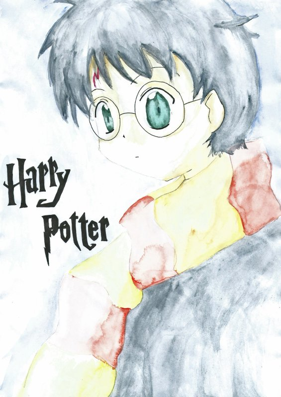 Dessin Aquarelle Harry Potter Au Coeur Du Departement Des Mysteres