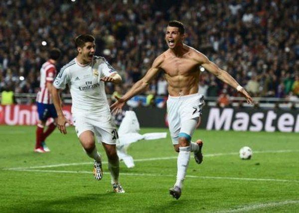 Ronaldo a célébré son but en finale... pour son film