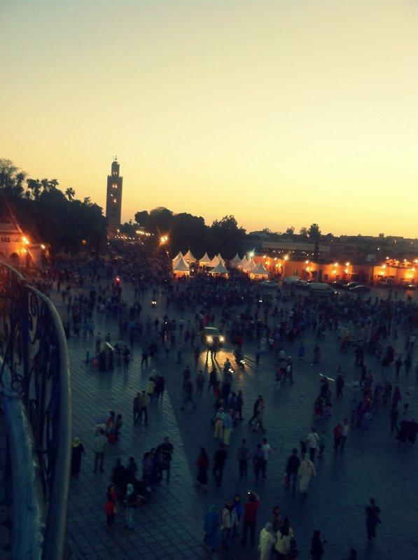 week-end à Marrakech