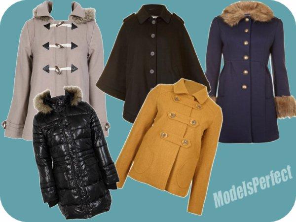 Les Must-Have de L'hiver ( 1ere partie ) : Les Manteaux !