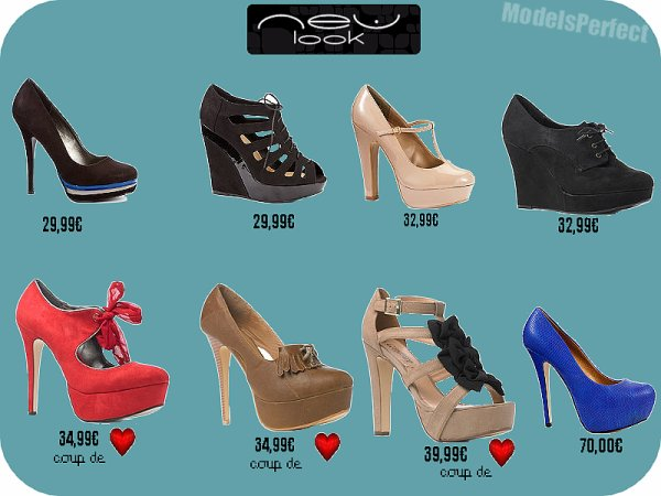 Ma Sélection Chaussures Chez : New Look !