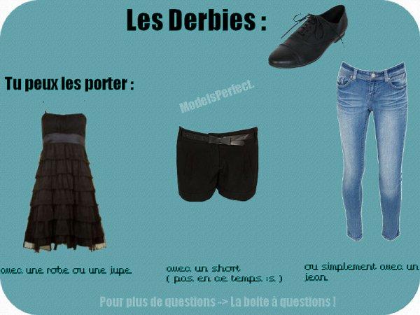 Les derbies : Le must-have !