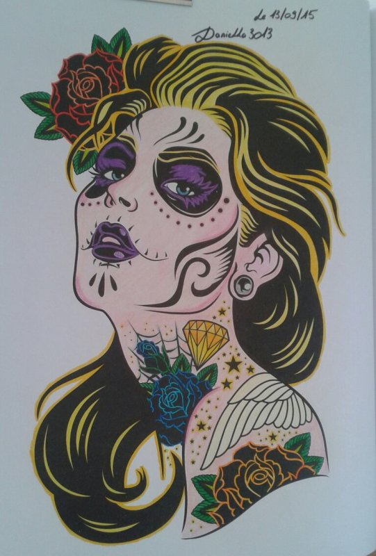 COLORIAGE N. 2 SLOW COLOURING TATOUAGES