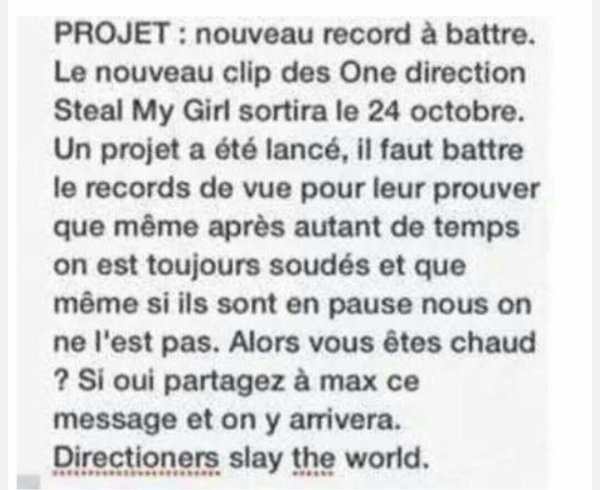 Steal my girl